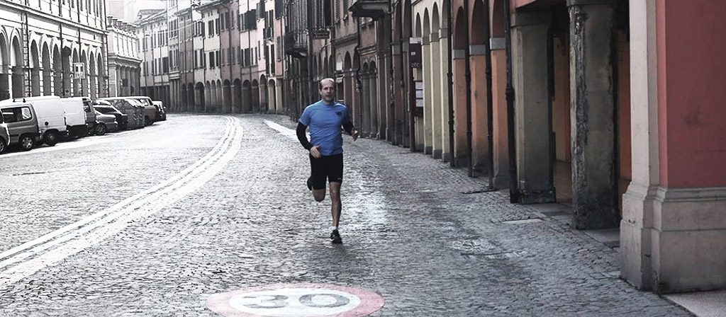 Running in Bologna